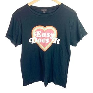 Wildfox Easy Does It T-Shirt NWT